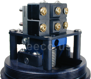 Stacked PEECO SPDT Switches for DPDT